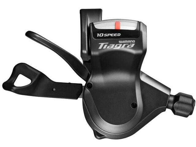 Shimano Tiagra Vaihdevipu Flat-ohjaustankoihin SL-4700/4703 vasen 3-vaihteinen Puristin, grey